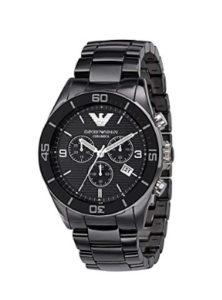 Montre chronographe en céramique pour homme